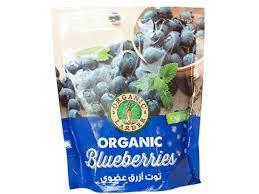 Organic Larder Frozen Blueberries 300g