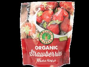 Organic Larder Frozen Strawberries 300g