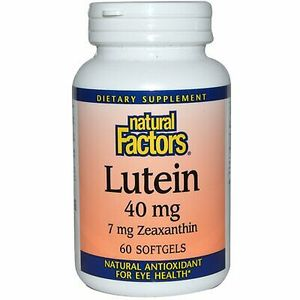 Natural Factors Lutein 60softgels