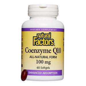 Natural Factors Coenzyme Q10 60softgels