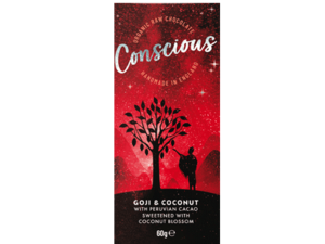 Conscious Goji And Coconut Chocolate 60g