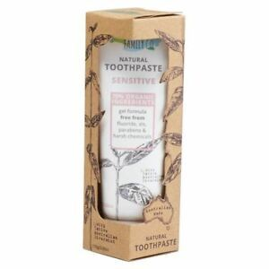 Natural Family Toothpaste Sensitive & Gentle 100g