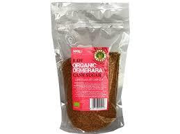 Organic Larder Demerara Cane Sugar 500g