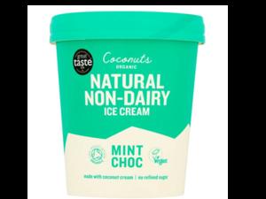 Coconuts Organic Mint Choc Chip Ice Cream 100ml
