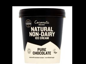 Coconuts Organic Pure Chocolate Ice Cream 100ml