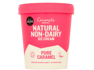 Coconuts Organic Pure Caramel Ice Cream 460ml