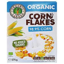 Organic Larder Cornflakes 375g