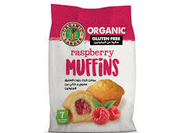 Organic Larder Muffins Raspberry Gluten Free 200g