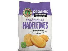 Organic Larder Madeleines Gluten Free 180g