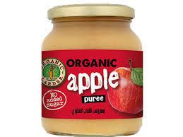 Organic Larder Puree Apple 350g