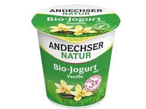 Andechser Mild Yogurt Vanilla 150g