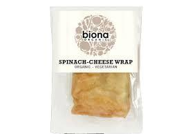 Biona Baby Spinach & Cheese Wrap 150g