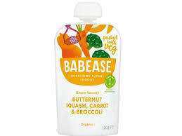Babease Butter Squash Carrot & Broccoli Stage 1 100g