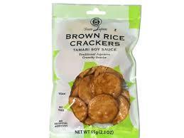 Muso Brown Rice Crackers With Tamari 65g