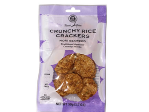 Muso Crunchy Rice Crackers With Nori Seaweed 50g