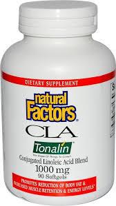 Natural Factors Cla Tonalin 1000mg
