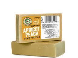Organic Larder Soap Apricot & Peach 100g