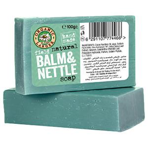 Organic Larder Soap Field Balm & Nettle 100g