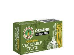 Organic Larder Veg Stock Cubes Yeast Free 66g