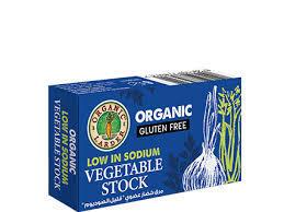 Organic Larder Veg Stock Cubes In Low In Sodium 60g