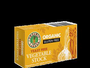 Organic Larder Veg Stock Cubes 66g