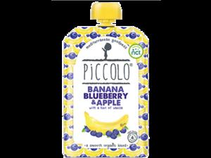 Piccolo Banana Blueberry & Apple With Vanilla 100g