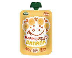 Ovko Apple Carrot Banana 90g