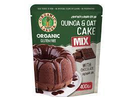 Organic Larder Quinoa & Oat Cake Mix Choco 400g