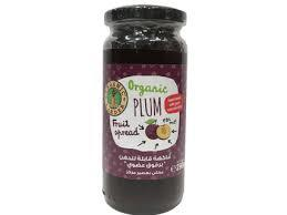 Organic Larder Plum Jam 290g