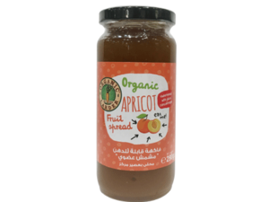 Organic Larder Apricot Jam 290g