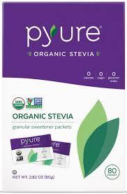 Pyure Stevia Granular Sweetener Packets 40g