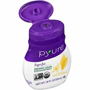 Pyure Liquid Stevia Extract Vanilla Flavor 53ml