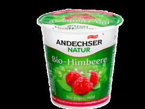 Andechser Mild Yogurt Raspberry 3.7% 150g