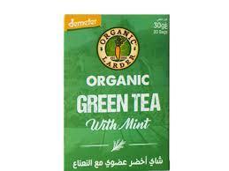 Organic Larder Tea Green Tea With Mint 30g
