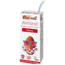 Ecomil Almond Milk Sugar Free Calcium Bio 200ml