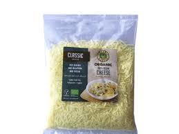 Organic Larder Vegan Cheese Classic Grated 200g
