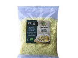 Organic Larder Vegan Cheese Hearty Grated 200g