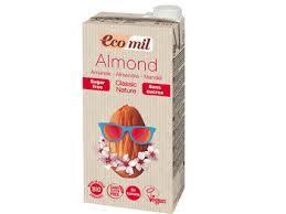 Ecomil Almond Milk Classic Sugar Free 1L