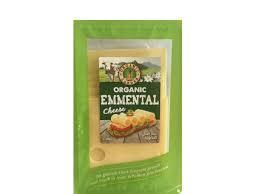 Organic Larder Cheese Emmental Sliced 150g