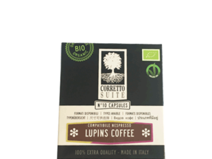 Corretto Lupins Coffee 10x1.5g