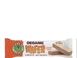 Organic Larder Wafer Chocolate Classic 30g