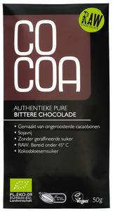 Co Coa Raw Classic Chocolate Bitter 50g