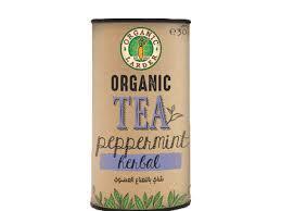 Organic Larder Tea Peppermint Herbal 30g