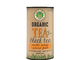 Organic Larder Tea Black With VanillaOrange 30g