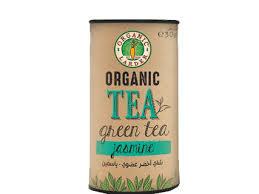 Organic Larder Tea Green With Jasmine 30g