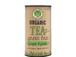 Organic Larder Tea Green Ginger & Pear 30g