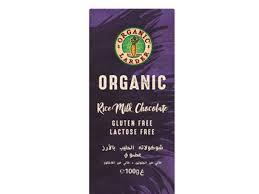 Organic Larder Chocolate Rice Milk 100g
