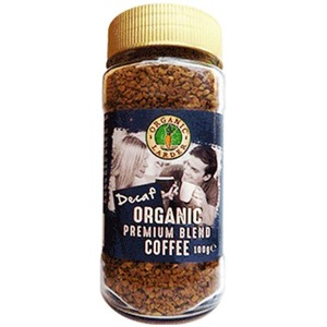 Organic Larder Blended Decaf Premium Coffee 100g