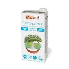 Ecomil Coconut Milk Sugar Free Calcium 1L