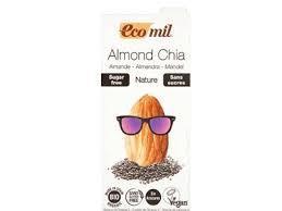 Ecomil Almond Milk Sugar Free Chia 1L